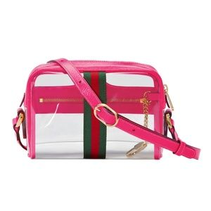 fe5b3be62 Gucci Bags | Ophidia Transparent Convertible Cross Body | Poshmark